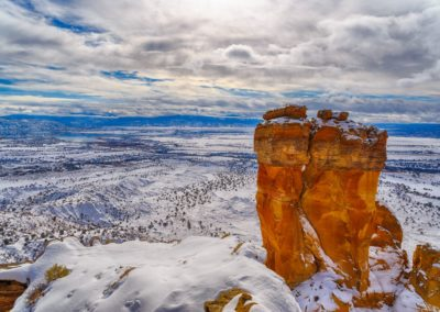 Abiquiu Lake and Chimney Rock by BFS Man