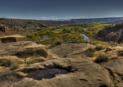 Rio Chama Overlook 2 by Angi English