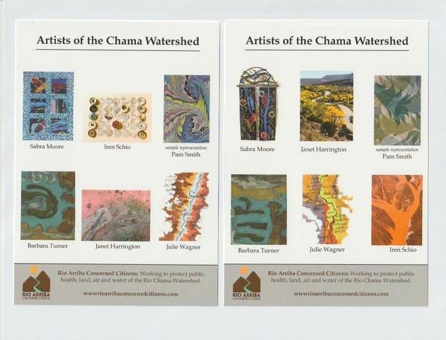 Artists of the Chama Watershed cards